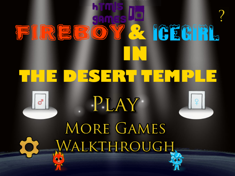 Fireboy & Icegirl 2: In The Desert Temple