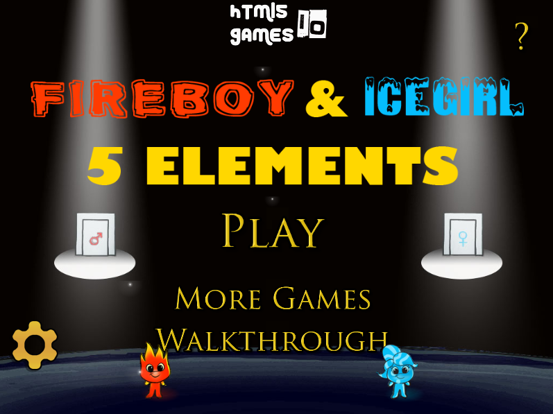Fireboy & Icegirl 5: 5 Elements